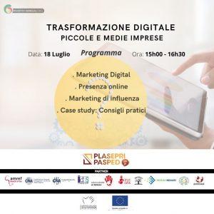 Read more about the article Trasformazione digitale per piccole e medie imprese