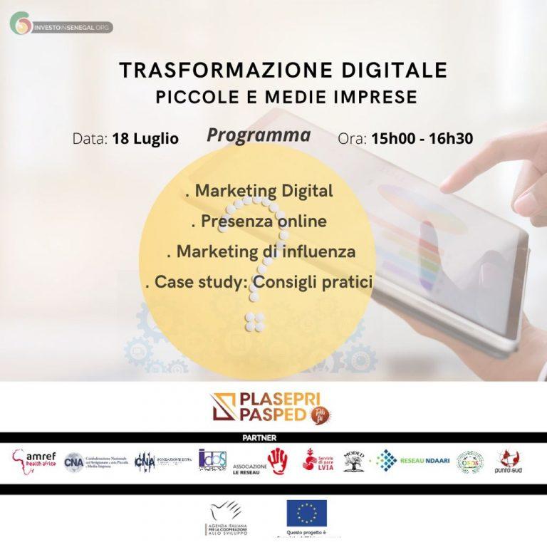 Trasformazione digitale per piccole e medie imprese