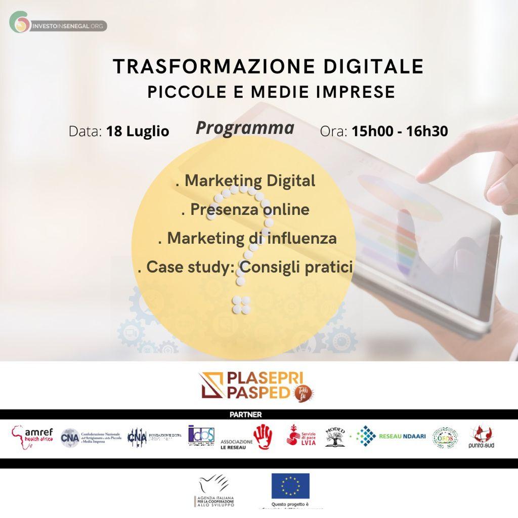 You are currently viewing Trasformazione digitale per piccole e medie imprese