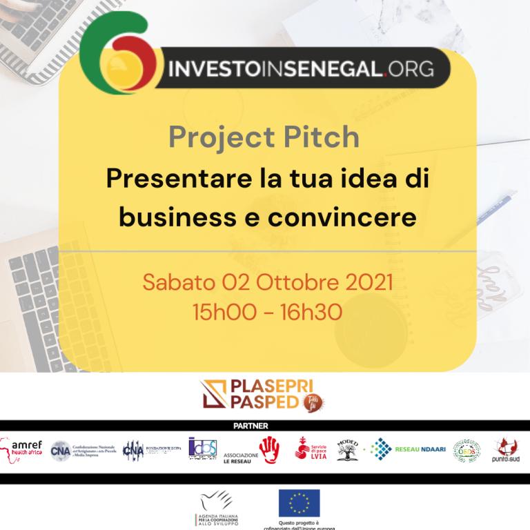 Project Pitch: presentare la tua idea di business e convincere